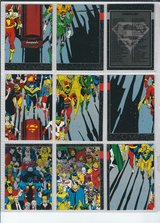 1992 Skybox International Doomsday The Death of Superman in Fort Riley, Kansas