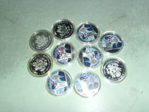 10 Obama coins in Fort Knox, Kentucky