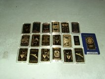 19 collectable coins in Fort Knox, Kentucky