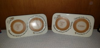Ceramic picture frames by Carson Home accent (Reduced#4) in Camp Lejeune, North Carolina