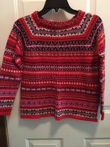 Juniors red striped sweater in Plainfield, Illinois