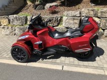 2016 Can Am Spyder RT S, purchased new 2017, Car license to drive in Wiesbaden, GE