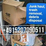 INSTANT PCS JUNK REMOVAL TRASH HAULING DEBRIS DISPOSAL GARBAGE DISCARD in Wiesbaden, GE