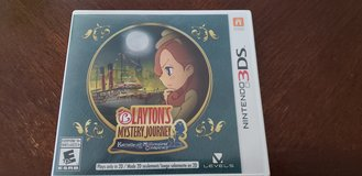 Laytons Mystery Journey Nintendo 3DS Game in Camp Lejeune, North Carolina