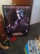 Terminator 2: Judgement Day framed poster in Camp Lejeune, North Carolina