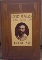 Leaves Of Grass The First Edition 1855 Walt Whitman in Camp Lejeune, North Carolina