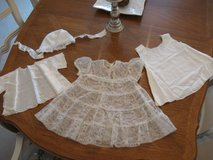 Vintage Lace Baptism/Christening Set by Carol Joy in Plainfield, Illinois