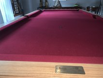 Solid wood SLATE pool table in Quantico, Virginia