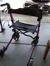 Rollator Walker with Seat in Travis AFB, California