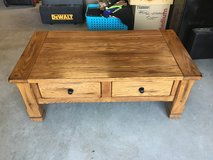 Oak coffee table in Travis AFB, California