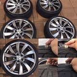 VW Audi tires rims wheels 5x112 8,5x19 et40 19 Inch M&S 235 35 ZR19 in Ramstein, Germany