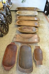 Antique Wooden Dough Bowl collection at present in Wiesbaden, GE