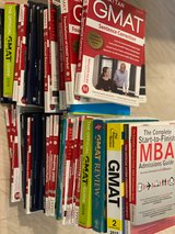 GMAT study material: Manhattan 5th Edition and SO MUCH more in Okinawa, Japan