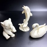 Ivory and 24k gold animal trio in Cherry Point, North Carolina