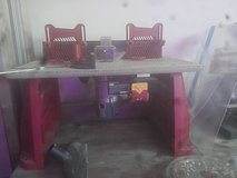 Craftsman Router and Table w/ 10 piece craftsman router bit set in Cherry Point, North Carolina