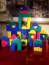 Non-Toxic Colorful Foam Building Blocks For Toddlers in Joliet, Illinois