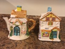 Victorian Houses Sugar and Creamer Set in Camp Lejeune, North Carolina