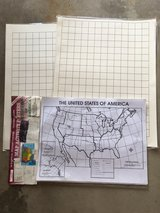 US Activity Posters, Laminated Graphs in Naperville, Illinois