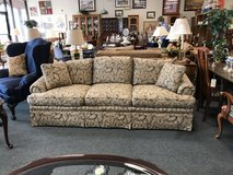 Ethan Allen Sofa with Beige leaves in Chicago, Illinois