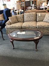 Ethan Allen Oval Coffee Table in Batavia, Illinois