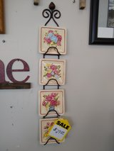 Wall Rack with 32 Seasonal Plates in St. Charles, Illinois