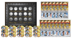 *** GOLDEN BASEBALL LEGENDS 15-Coin Sets 24K Gold Plated State Quarters US with Display Case *** in Tacoma, Washington