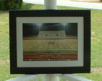pic of stadium in warner robins / picture with glass / put in your own pic / great frame in Macon, Georgia