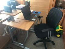 Computer Desk with chair in Okinawa, Japan