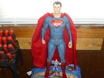 large superman and small superman in Fort Knox, Kentucky