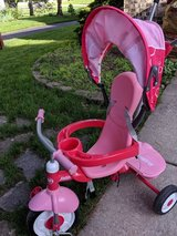 Radio Flyer 4-in-1 Stroll 'n trike w/ canopy - $45 (Naperville/Lisle) in St. Charles, Illinois