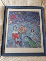 Marc Chagall Art Print in Ramstein, Germany