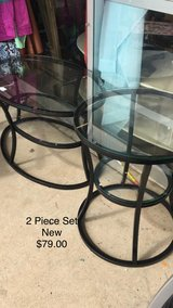 Glass Coffee Table and End Table (New) Set in Fort Leonard Wood, Missouri