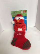 Elmo Christmas stocking singing in Naperville, Illinois