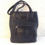 """""""Wilson Leather"""" purse in black genuine leather with multi pockets in Yucca Valley, California"""