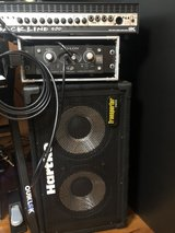 bass amp head and cabinet(300W GK and hartke SP Transporter 150W) in Okinawa, Japan