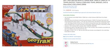 TRAINS TRAINS TRAINS  Price Reduced by $300!! in Fairfield, California