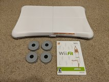 Wii Fit Balance Board With Wii Fit Game in Batavia, Illinois