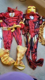 Boys dress up costumes in Houston, Texas