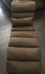 Giantex Folding Lazy Sofa Chair/Sofa Couch Bed w/Pillow (Coffee) in Fort Campbell, Kentucky