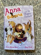 Anna Banana and the Puppy Parade soft cover book in Okinawa, Japan