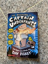 The Adventures of Captain Underpants -soft cover in Okinawa, Japan