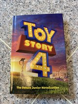 Toy Story 4 The Deluxe Junior Novelization -hard cover in Okinawa, Japan