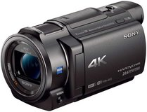 Sony 4K HD Video Recording FDRAX33 Handycam Camcorder in Ansbach, Germany