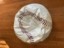 "Reduced: Baseball Beanbag ""Chair"" in Yorkville, Illinois"