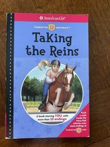 American Girl Taking the Reins Book in Naperville, Illinois