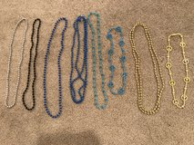 Blue & Gold Bead Necklaces in Joliet, Illinois