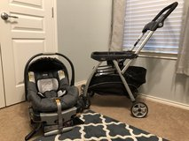 Chicco Infant Carseat with base & Caddy Carseat in Houston, Texas