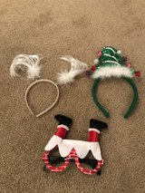 Christmas Headbands & Glasses in Aurora, Illinois