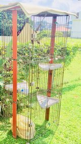 4 level cat playpen. Cage, Cat tree. in Okinawa, Japan