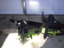 two poulan chainsaws in Fort Knox, Kentucky